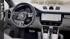 interieur porsche cayenne 2020 porsche cayenne turbo coupe interior