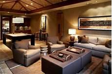 Wohnideen Aus Holz - wohnideen wohnzimmer braun couches sofas holz braun
