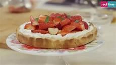 crostata al limone benedetta parodi ricette benedetta parodi crostata con mascarpone e fragole video ultime notizie flash
