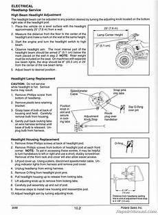 1996 2000 Polaris Sportsman 335 500 Atv Service Manual By