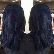 dark midnight blue hair 25 midnight blue hair ideas that will inspire your next moody look hair color for black hair
