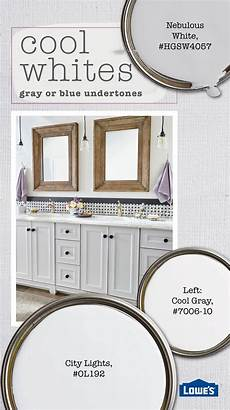 cool white shades have undertones of gray or blue they re fresh and sophisticated and pair