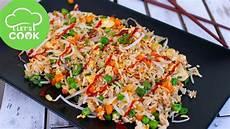 Schnelle Gerichte Mit Reis - rezept gebratener reis mit gem 252 se wie beim asiaten