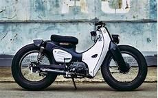 Cafe Racer Honda Cub By Eak K Speed Custom