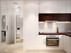 Small Spaces A 40 Square Meter 430 Square Apartment Visualization