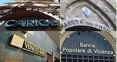 confronto banche decreti carige mps e banche venete a confronto