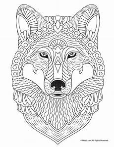 Tier Malvorlagen Kostenlos Wolf Coloring Page Woo Jr Activities