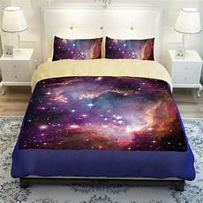 space sheets galaxy bedding universe outer space themed