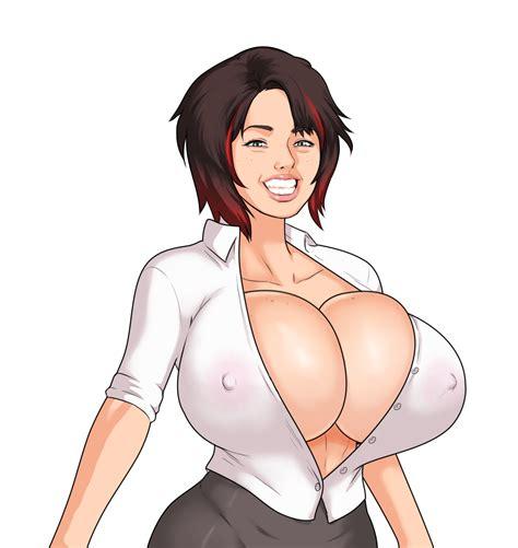 Nipples Through Blouse