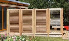 Holz Sichtschutz Ausgereiftes Deko Element Holz Roeren