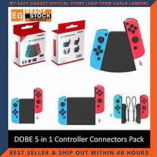 Connector Pack Nintendo Switch Gamepad by Dobe Nintendo Switch 5 In 1 Connector Pack For N Switch
