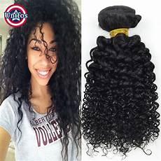 hair weave bundles curly 2 pcs jet black jerry