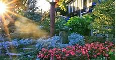 conrad art glass gardens changing light shorter days