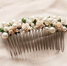 hair combs hair flowers rosa pearl and flower hair comb accessories flowers in hair