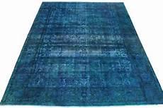 vintage teppich blau vintage teppich blau in 400x300cm 1001 3322 bei