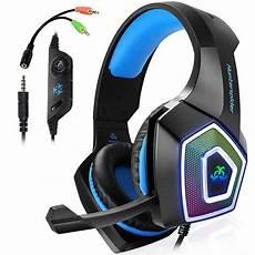 ttkk hunterspider gaming headset for ps4 3 5mm stereo