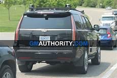 autonomous cadillac escalade spied testing gm authority