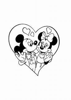 Micky Maus Kostenlose Ausmalbilder Mickey Mouse Minnie 039 Walt Disney