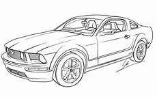 Ausmalbilder Drucken Autos Ausmalbilder Ford Mustang Ausmalbilder Cars