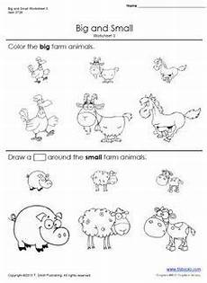 snapshot image of printable big and small worksheets 3 and 4 opposite worksheets from www