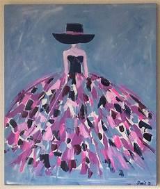 peinture femme moderne tableau moderne femme robe color 233 e tableau multicolore tableau femme paintings painting