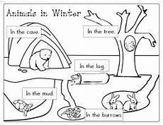 migrating animals coloring pages 17086 itsy bitsy learners animals in winter printables with images winter kindergarten winter