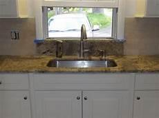 Kitchen Sink With Backsplash Undermount Kitchen Sink Granite Window Sill Limestone