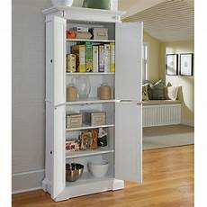 White Kitchen Pantry Cabinet Lowes by Shop Home Styles 30 In W X 72 In H X 16 In D Finished