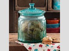 The Pioneer Woman Adeline Glass Cookie Jar   Walmart.com
