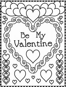 Coloring Pages For Valentines Day Free Printable S Day Coloring Pages