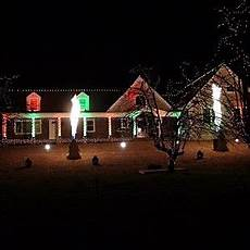 wall holiday light show returns for 8th year audio