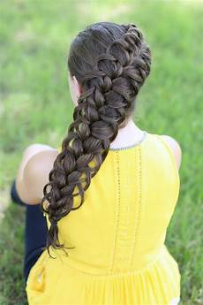 diagonal french loop braid cute braid hairstyles cute girls hairstyles