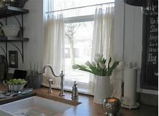 Küche Vorhänge Modern - 50 fenstervorh 228 nge ideen f 252 r k 252 che klassisch und modern