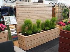 Sichtschutz Terrasse Pflanzkübel - 79 besten sichtschutz mit pflanzkasten lang made in