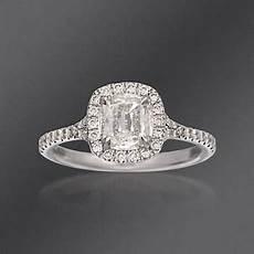 henri daussi 1 25 ct t w diamond engagement ring in 14kt