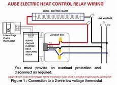 heat relay wire diagram convert line voltage thermostat to low voltage nest