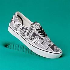 vans x harry potter daily prophet comfycush era sneakers