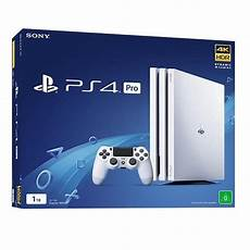 sony ps4 playstation 4 pro 1tb console glacier white
