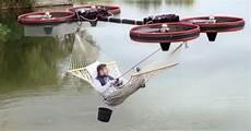 come fare un amaca l amaca con i droni per andare a zonzo in puro relax