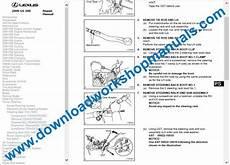 car maintenance manuals 2004 lexus gs regenerative braking lexus gs 300 service repair workshop manual