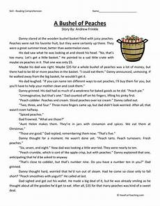 poetry comprehension worksheets for grade 4 25252 fourth grade reading comprehension fourth grade comprehension questions 4th g reading
