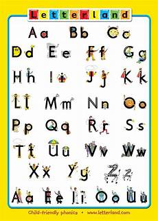 free letterland handwriting worksheets 21777 letterland alphabet poster preschool reading phonics alphabet poster