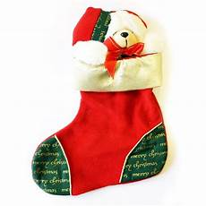 jual hiasan pohon natal kaos kaki boneka baru peralatan rumah tangga murah