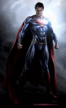 of steel early of steel concept reveals zack snyder s ideal