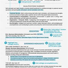 student resume exles templates and writing tips