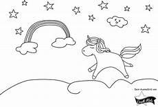 malvorlage einhorn einladung kinder zeichnen und ausmalen