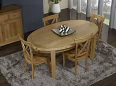 table ovale avec rallonge chene massif table de ferme ovale damien en ch 234 ne massif de style
