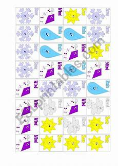 weather patterns worksheets 292 weather pattern strips 2 small cards esl worksheet by madimka