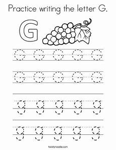 letter g worksheets for grade 24623 practice writing the letter g coloring page twisty noodle writing practice writing practice