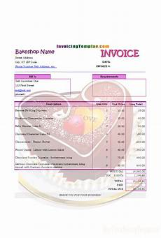 cake order receipt template invoicing format for bakery and cake shop stuff to buy